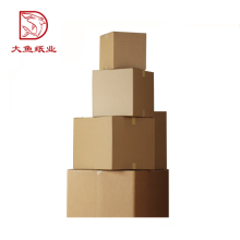 Customized size rectangle folding corrugated paper box wholesale